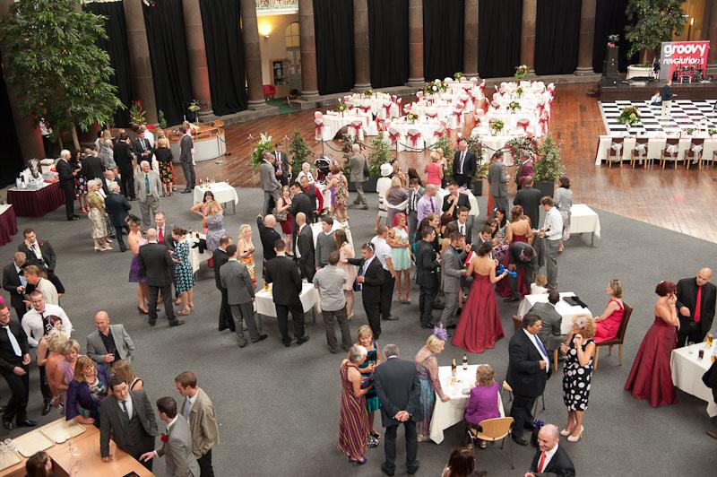 Buxton university wedding
