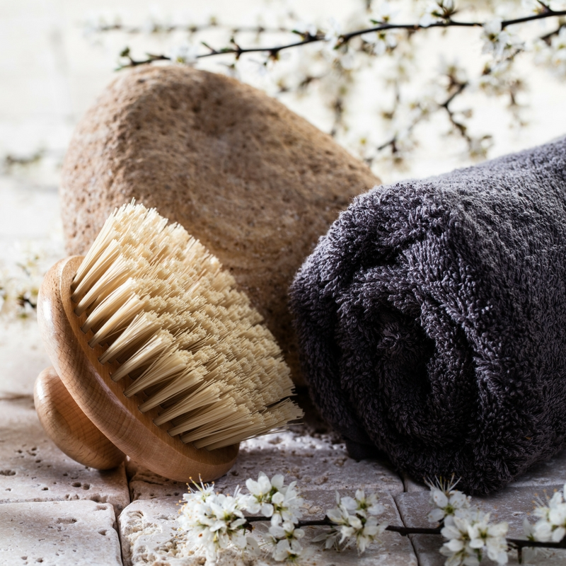 Winter warmer - body brush